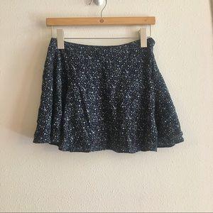 American Eagle Floral Mini Skirt